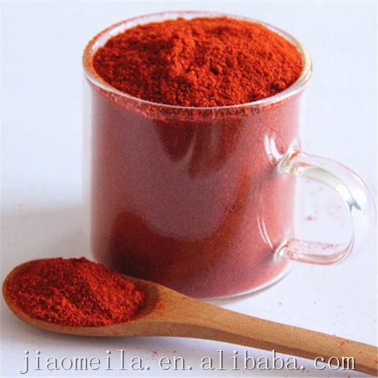 Hot selling bright natural color sweet paprika powder 100% natural sweet peppers with allergens assurance