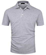 men wholesale OEM hot sale men's solid color polo/classic style polo for man