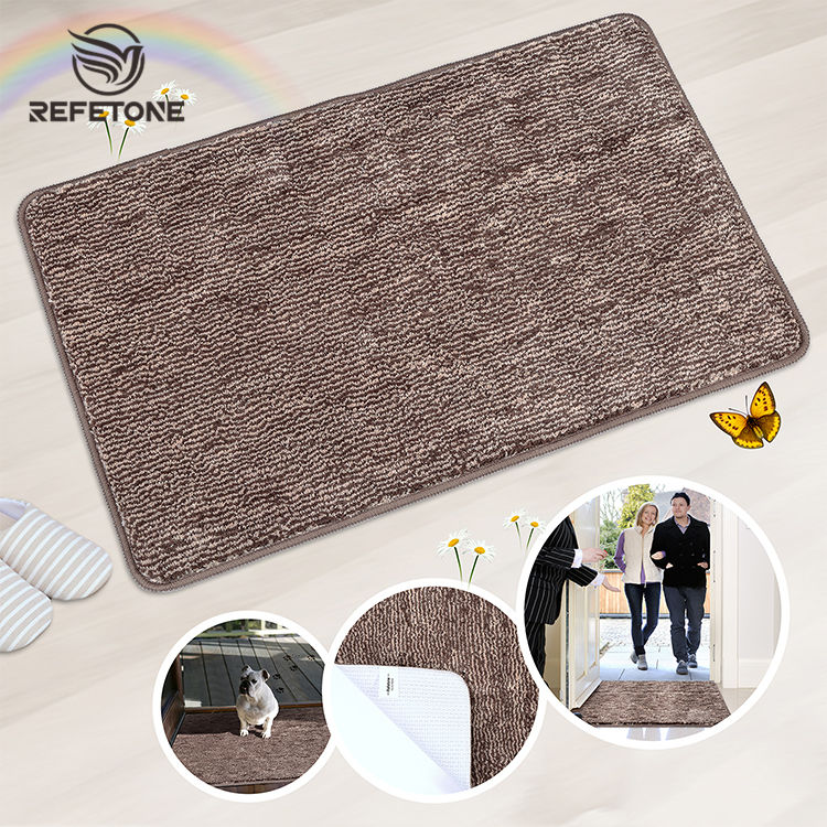 Door mat manufacturers custom super absorbent door mat, anti slip floor mat carpet