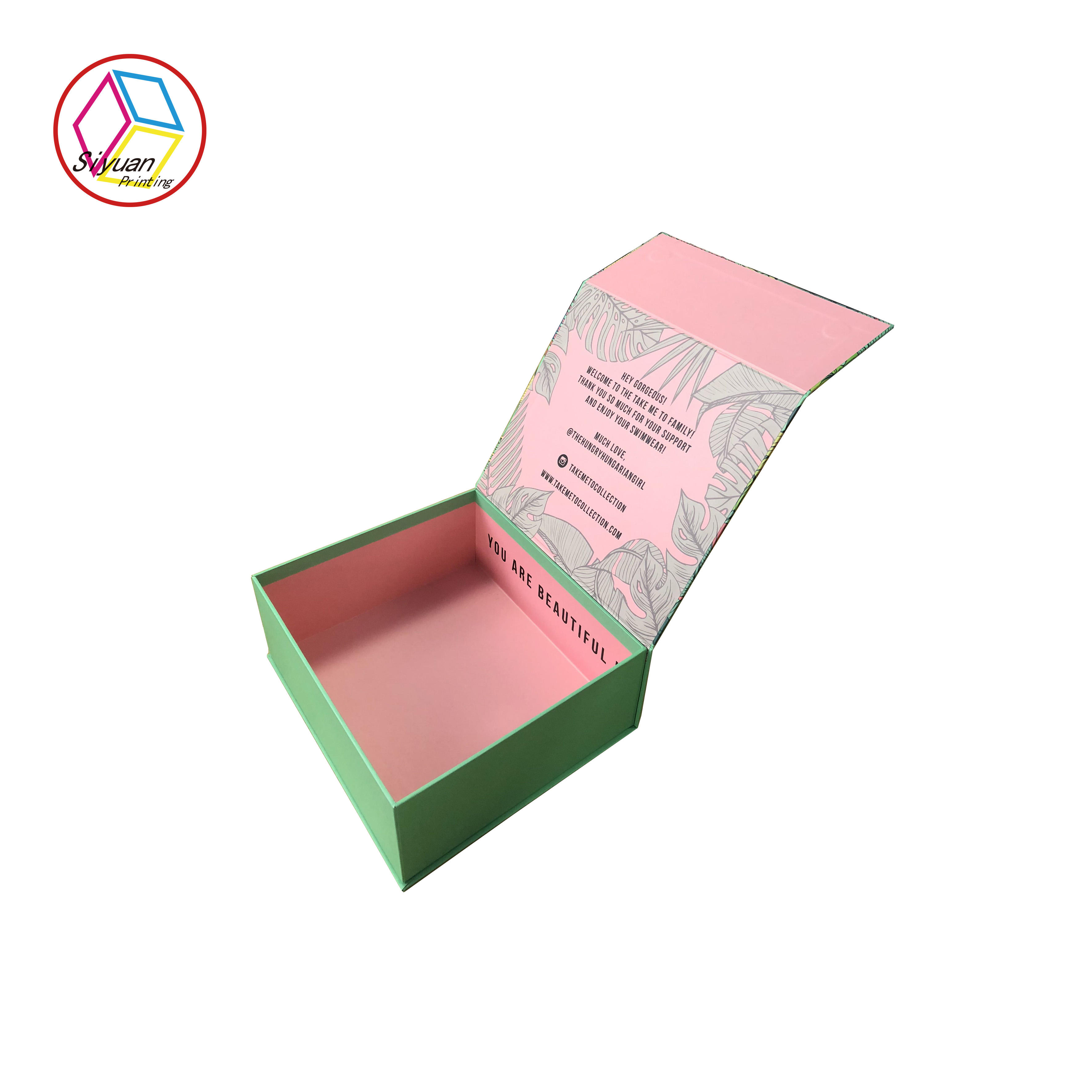 High Quality Gift Paper Packaging Box