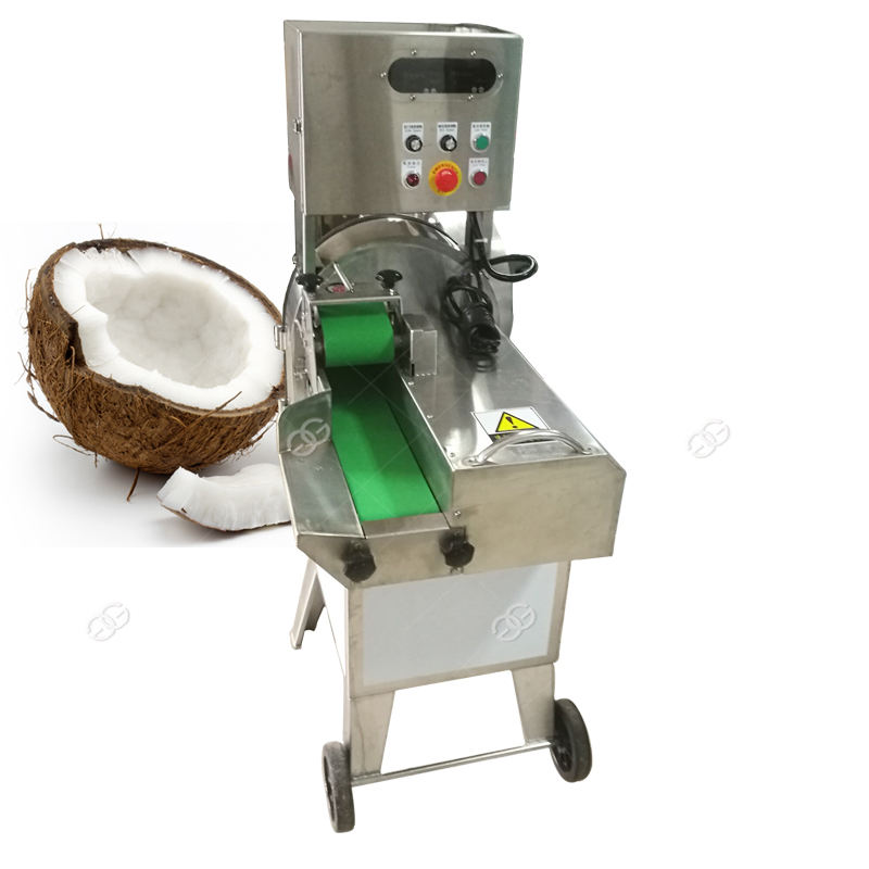 Hot Sale Dry Coconut Meat Chips Slicing Coconut Slicer Machine