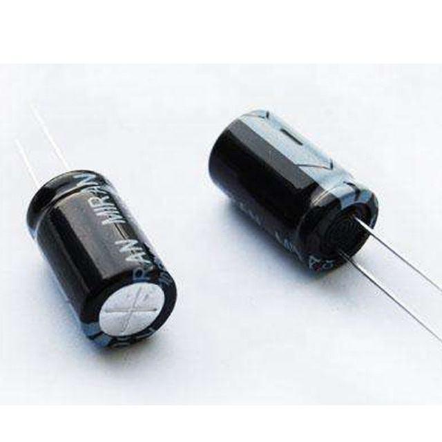 13mm x 7mm 5 x 33UF 50V RADIAL LEAD ALUMINIUM ELECTROLYTIC CAPACITORS 105C PACK OF 5