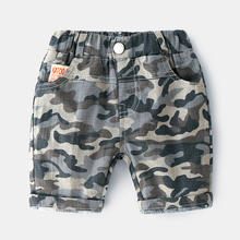 Wholesale Children Shorts 2019 Summer Boys 2-6year Camouflage Shorts Fashion Baby Boys Shorts