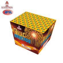wholesale salute Pyrotechnics Combination 25 Shot Fan Cake Fireworks