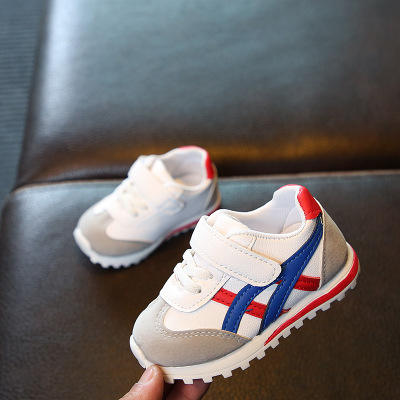 2019 Spring wholesale soft baby white sport shoes casual baby boys sports shoes Comfortable baby running shoes