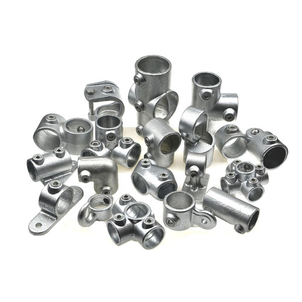 Galvanized Pipe Fittings Round Tube Connector