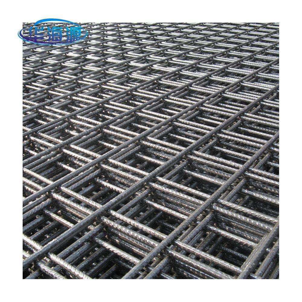 6mm -10mm Steel Bar Welded Wire Mesh Reinforcing Concrete Panels Screen Plain Weave