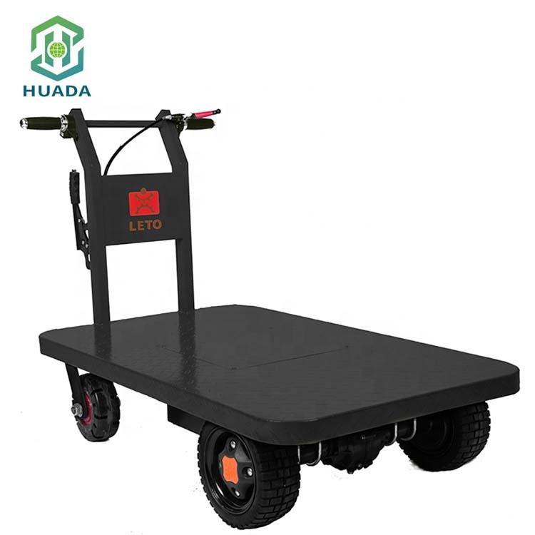 Mini Warehouse Truck Garden Electric Trolley Electric Carry Wagon
