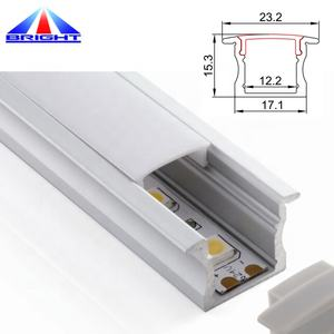 Hard led bar strip waterproof smd5630 72leds/m led bar lights with aluminum profile with U slot for BAR