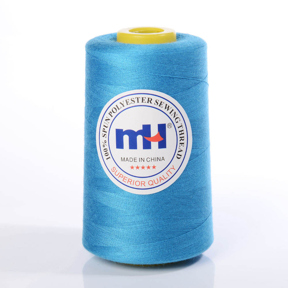 Wholesale Weaving Thread 40/2 5000yds 100% Polyester Sewing Thread for Sewing Machines