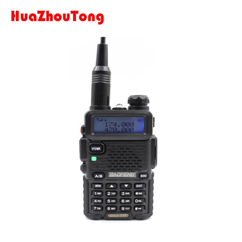 Harga rendah dmr handsfree DMR digital DM-5R monitor Produsen radio baofeng Ham 2 way radio