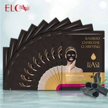 best sale Deep Cleansing Moisturizing Black Mud Mask Bamboo Charcoal Black facial Mask for whitening
