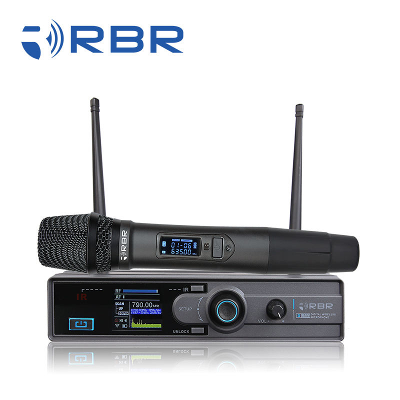 High quality D333 digital uhf wireless microphone