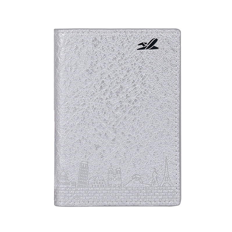 NEW travel Custom multiple embossed Blank Passport Cover holders with logo