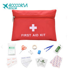 SW5002 wholesale portable car travel military camping survival emergency  supplies mini cute first aid kit box bag case