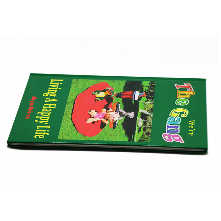 Factory supplier custom educational hard cover/softcover child coloring cartoon story printing publish book oem