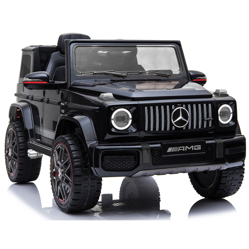 2020 new Licensed G 63 kids plastic battery electric kids ride on car 12V real SUV for baby toy car for children driving 24v