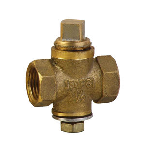 Brass Plug Valve Direct Factory