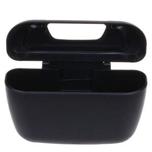 Mini Car Trash Can Table Plastic Dustbin Garbage