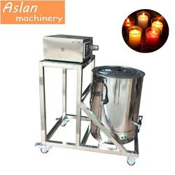 Semi-automatic Electric Tealight Glass Candle Making Hot Wax Dispenser Filling Machines