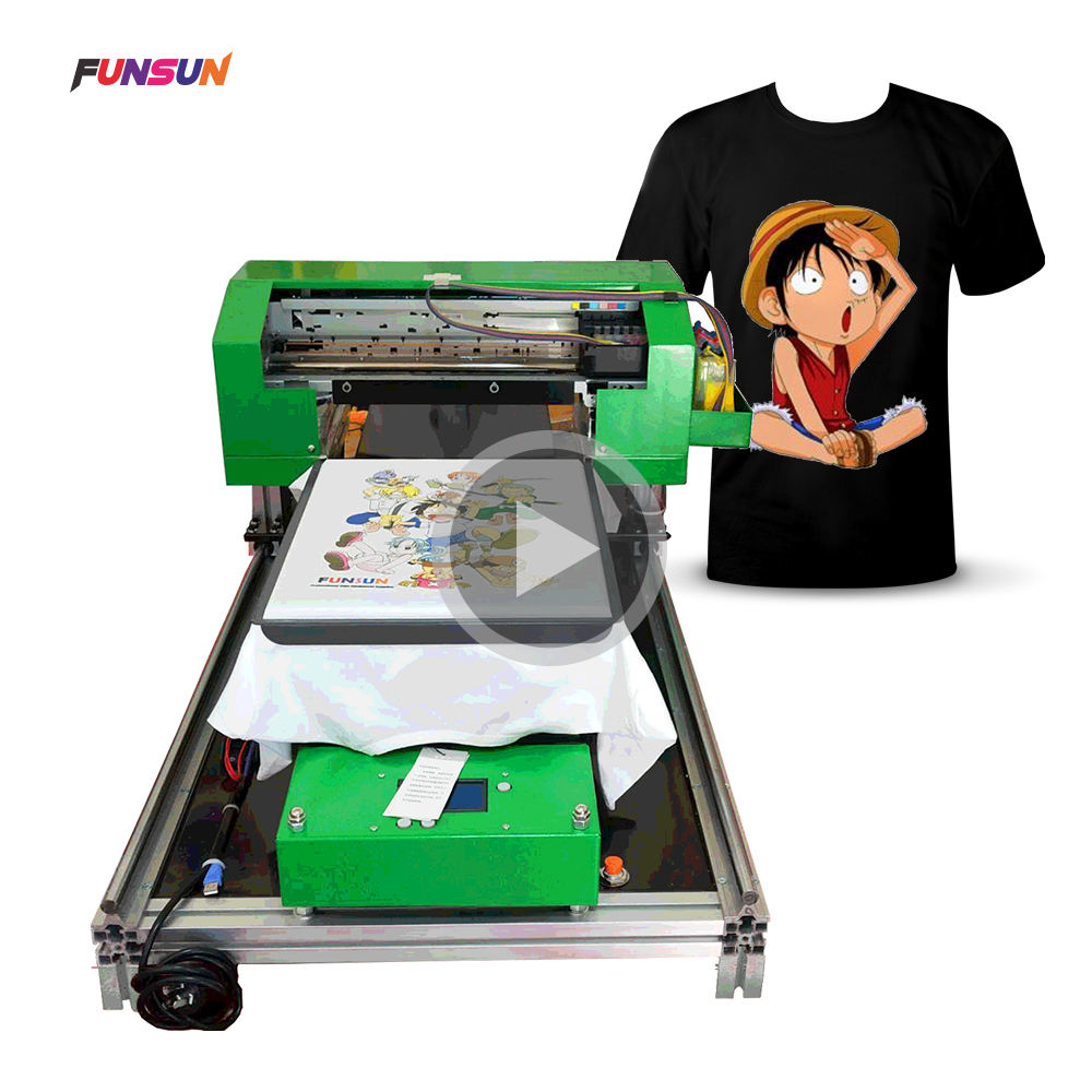 Big discount 1440dpi A3 DTG direct to garment printer t shirt printing machine