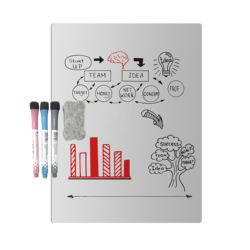 Portable Magnetic Dry Erase Whiteboard Sheet 17
