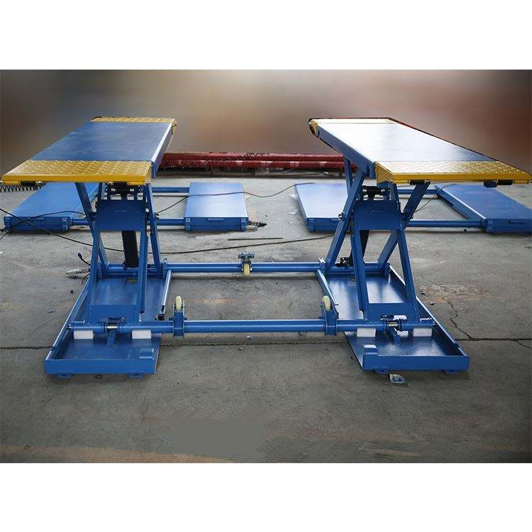 Factory price Mid-rise mobile Scissor Car LIft Vehicle lift for sale