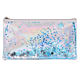 Licheng BXN583 Laser Pencil Case, Small Shiny Leather Pencil Case Kids