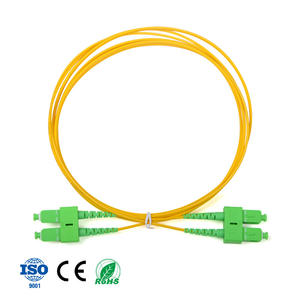 Data Center sc sc apc SM Duplex 2Core 2mm LSZH Fiber Optic connector Patch cord