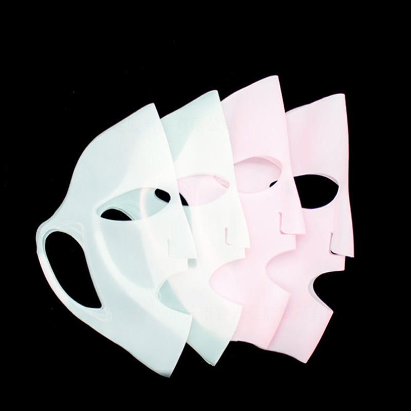 Japan hot sale reusable with holder BPA free silicone facial face mask