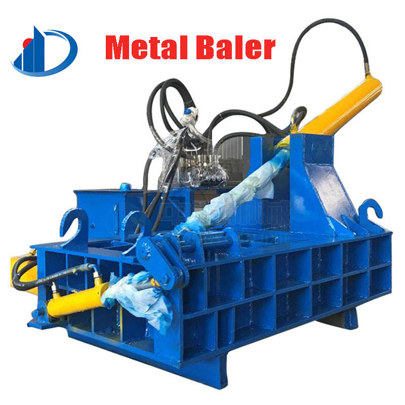 Hydraulic Portabl Used Shear Compactor Baler Scrap Swarf Metal Baler For Sale