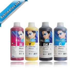 1L liter Korea inktec water based sublinova dye sublimation ink for digital cotton printing machine