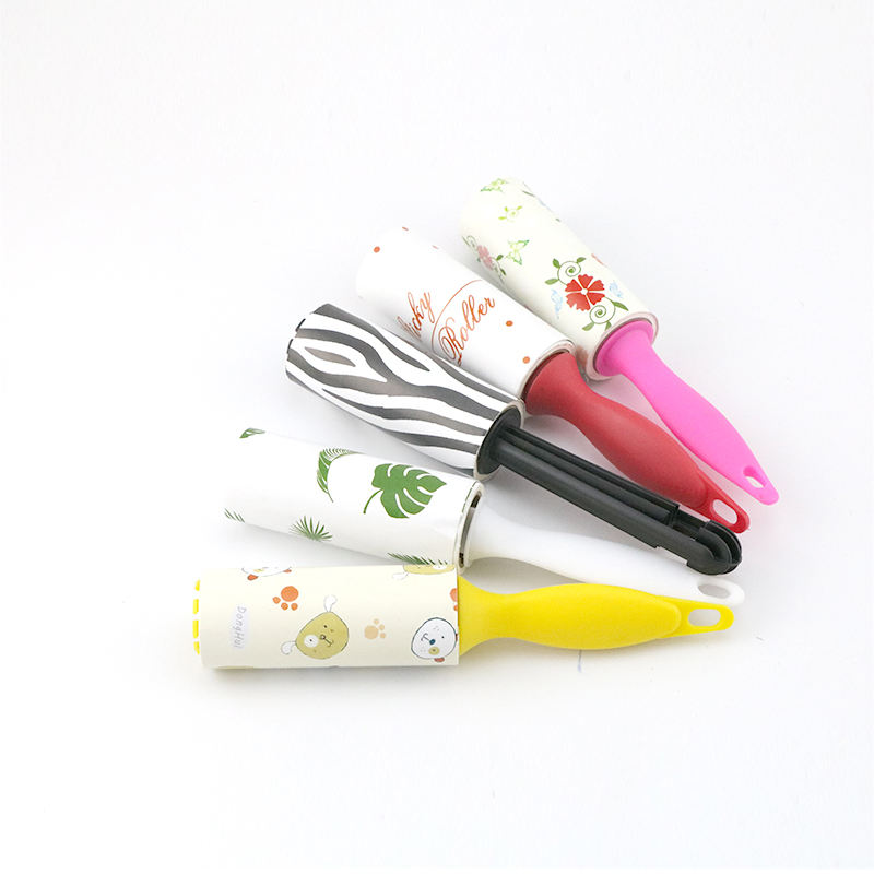 Kawaii High Quality miniature Travel Carry Eco-Friendly Sticky Remover Dust Clothes Mini Lint Roller