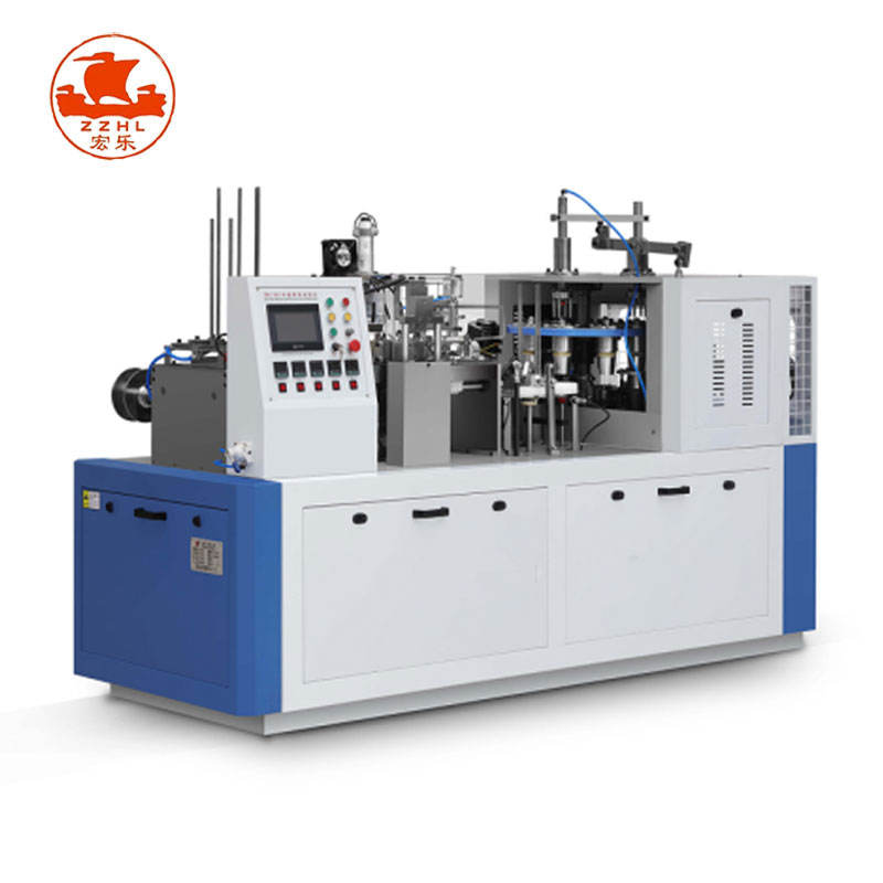 High Speed Automatic Paper Bowl Water Carton Cup Forming Machine Biodegradable Disposable Paper Cup making Machine Price