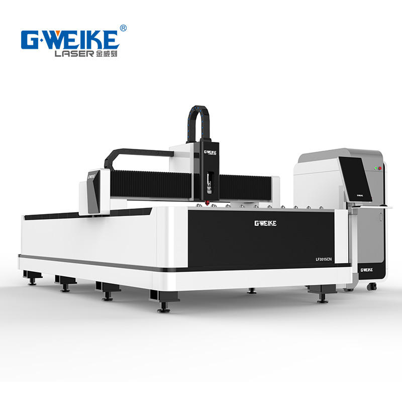 Cnc lazer cutting mild steel plate cutting machine