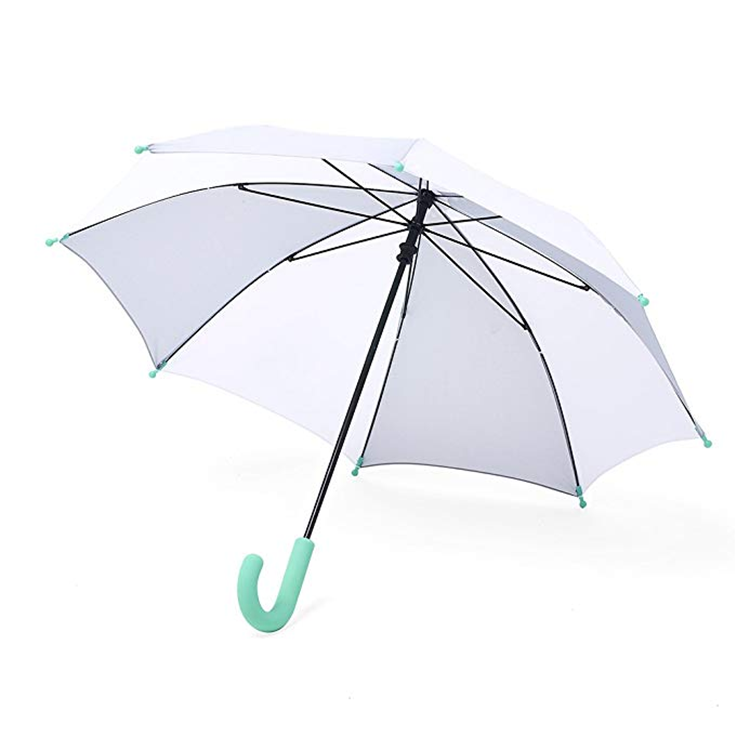Regular size manual open and close j handle straight umbrella sombrillasfor man