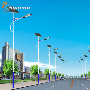 Outdoor solar tuinverlichting aluminium decoratieve tuin licht pole