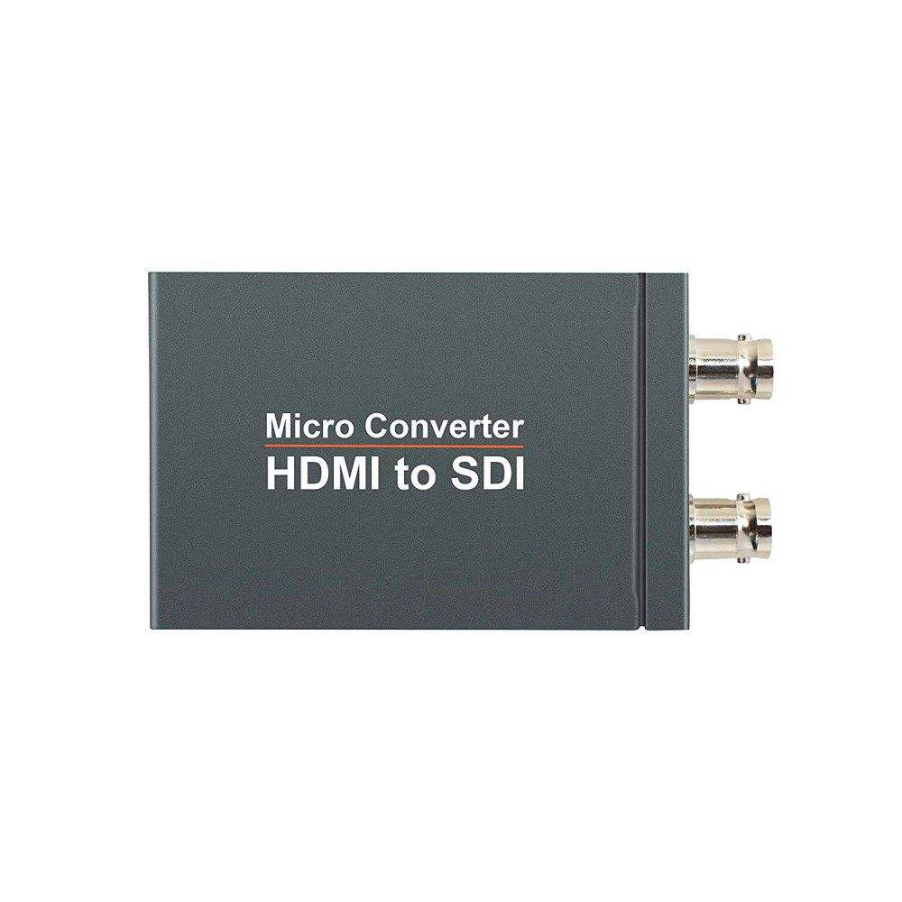 Mini HDMI a SDI Converter Adattatore HDMI a 3G HD SDI * 2 Display 1080p con porta usb di alimentazione HDMI Switcher a SDI per PS3/4 Smart box