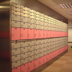 Competitive price hotel safes/security safe deposit boxes