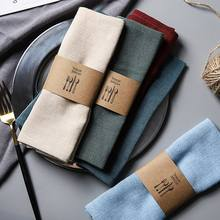 Linen cotton beautiful dinner cloth napkin table napkin