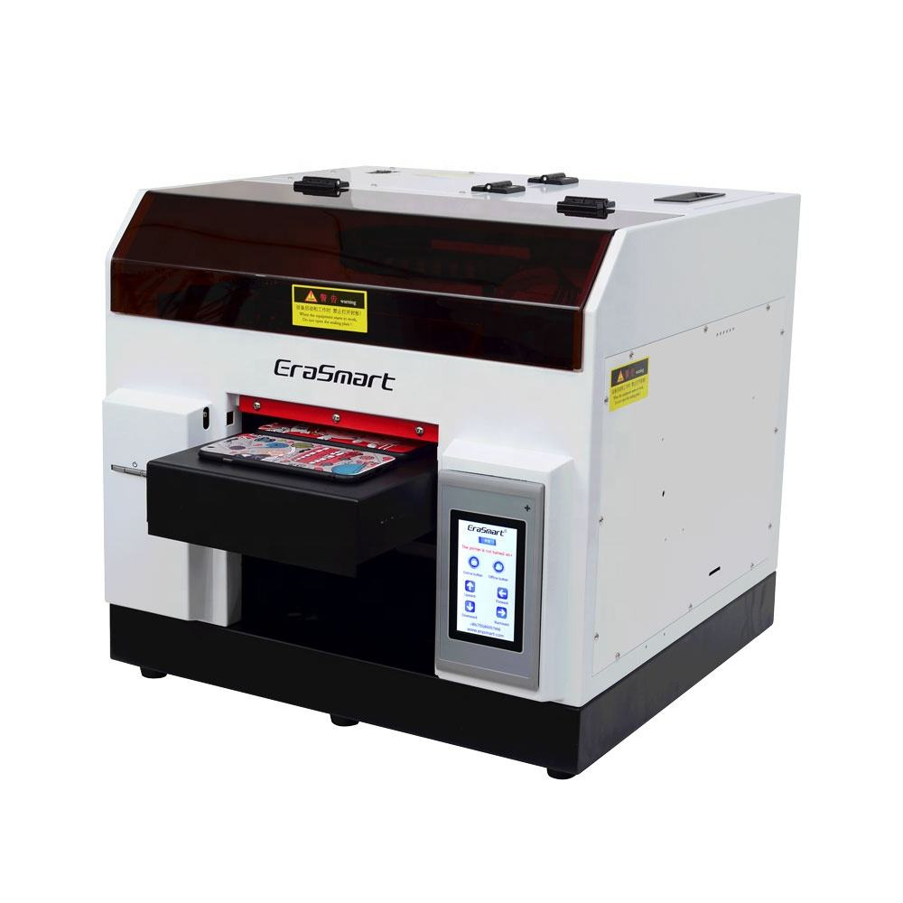 UV Flatbed Printer Harga Piala Botol Desktop A4 Ukuran LED UV Printer