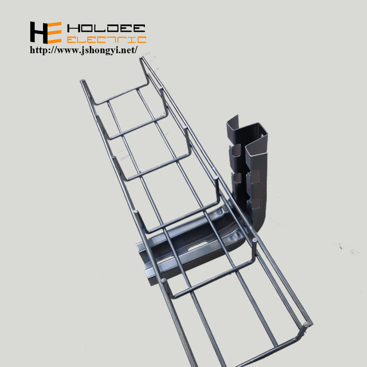 USA Standard wire mesh basket cable management tray wire mesh tray and fittings cable tray production line