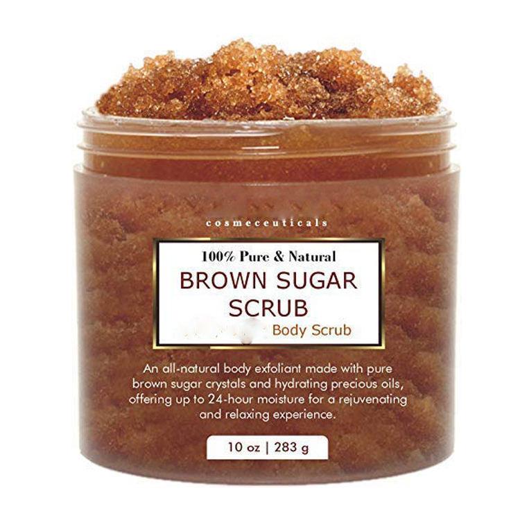 Natural facial scrub sugar — img 14