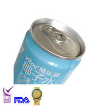 Canned 100% natural fresh coconut energy beveage with bubble
