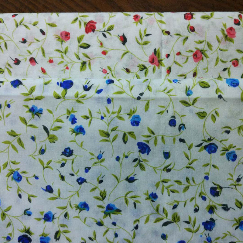 home textile print cotton fabric for bed sheet in roll