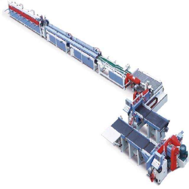 Customize wood machine MHS1525Lx600II Automatic finger joint production line for furniture
