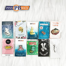 PINSBACK China custom design high quality customized logo enamel pin wholesale price enamel pin badge new with backcard