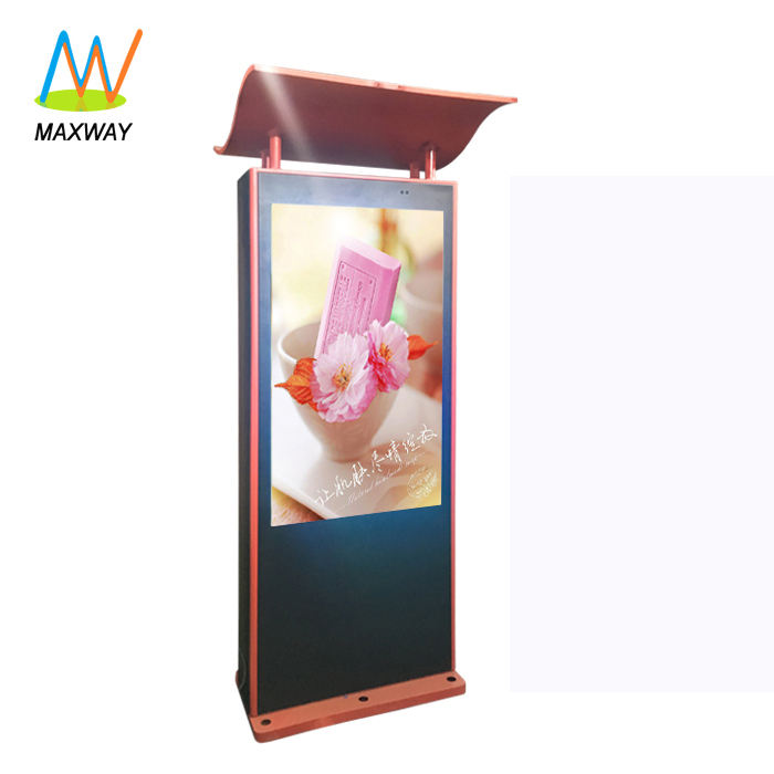 types of large outdoor android advertising info kiosk for digital signage bus station board information