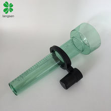 Garden use plastic rain gauge, rain measuring tool