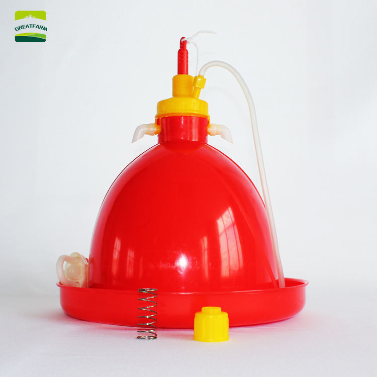 Automatic Poultry Chicken Plasson Plastic Poultry Plasson Bell Drinker plasson drinker for chicken and duck